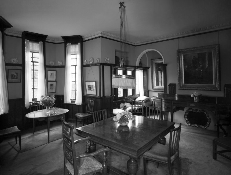 General view of dining room from South. digital image of AY 3816.