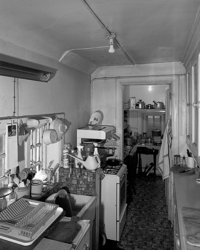General view of scullery from South. Digital image of B 57266.