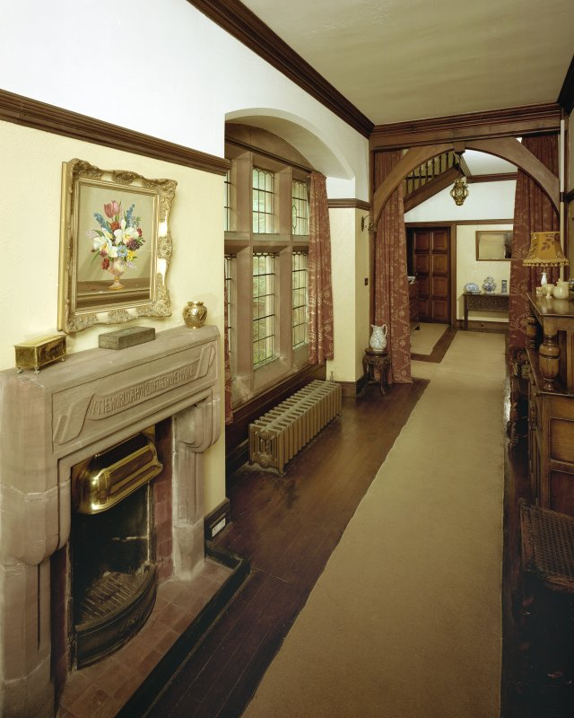 General view of hall from West. Digital image of B 57264 CN.