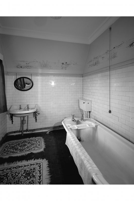 General view of North-East bathroom from West. Digital image of B 57270.