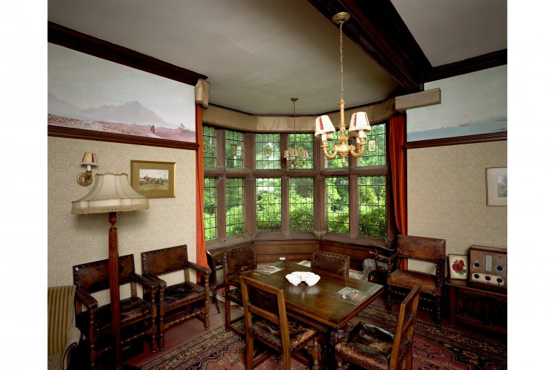 General view of dining room from North-West. Digital image of B 57262 CN.