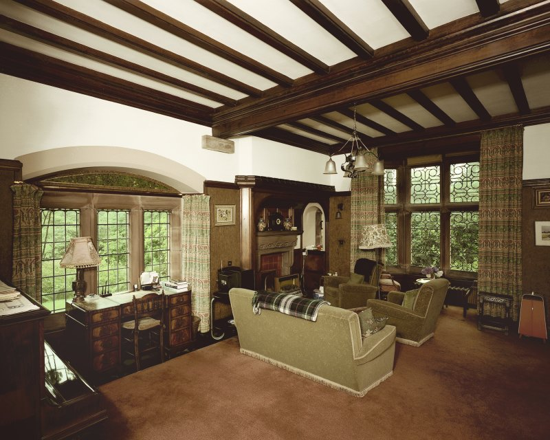 General view of ground floor drawing room from North-East. Digital image of B 57256 CN.