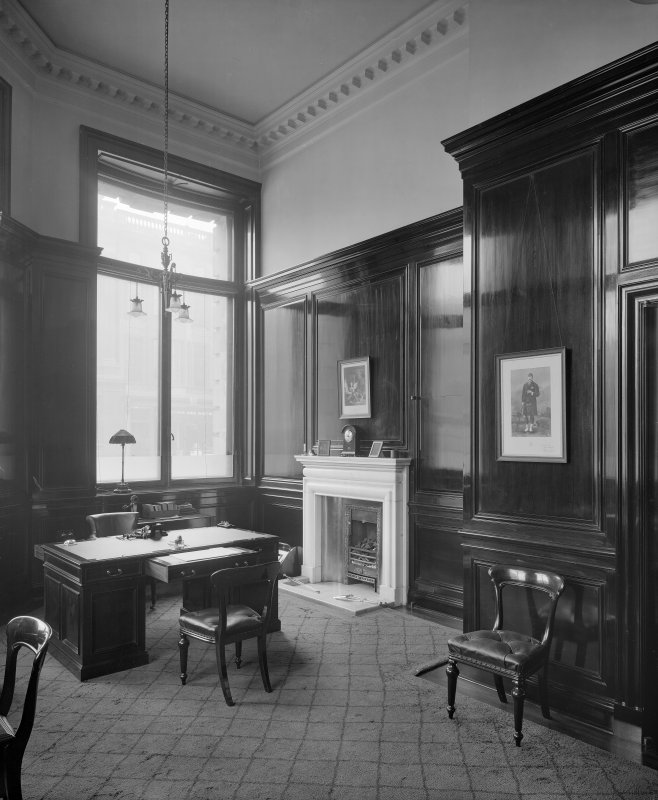 Interior - view of private office