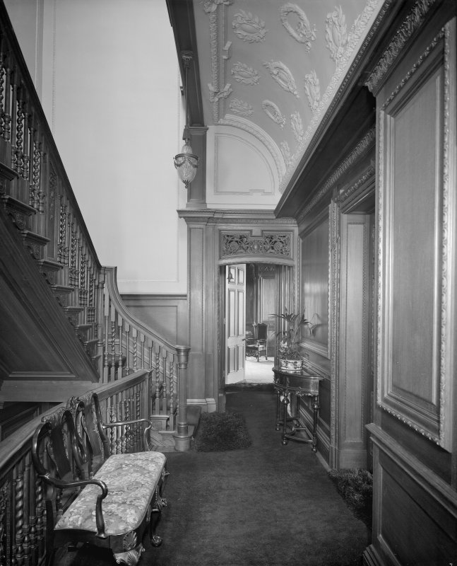 Interior - view of first-floor landing
