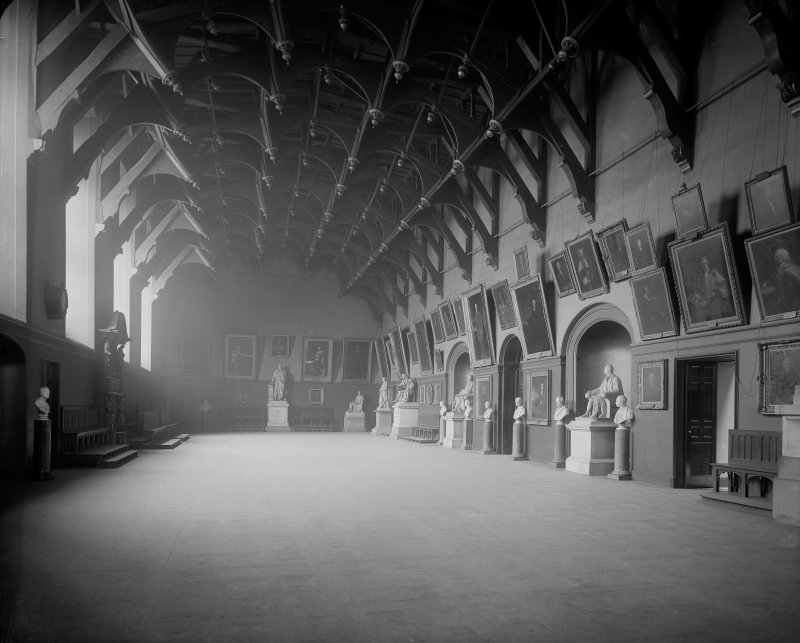 Interior-general view of Parliament Hall.