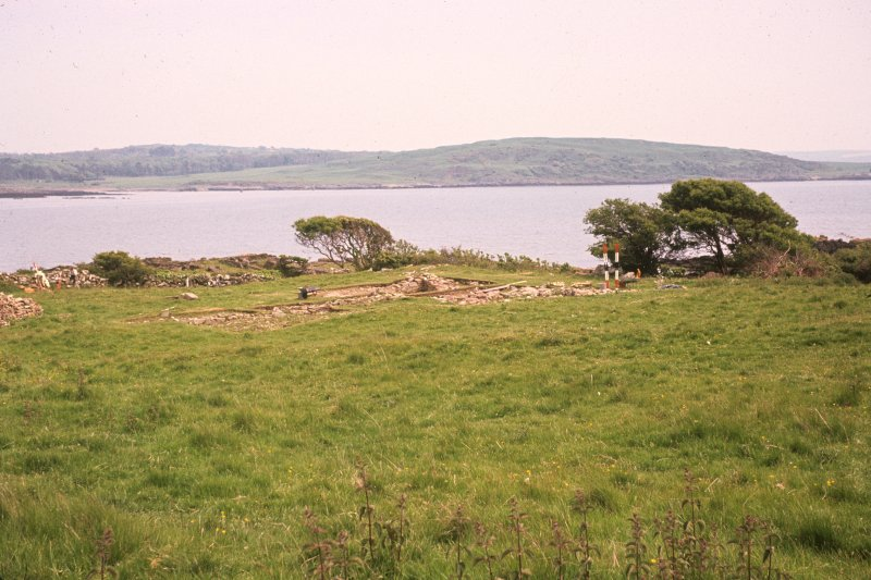 Copy of colour slide showing general view of site from west. Ardwall Island, Dumfries and Galloway NMRS Survey of Private Collection Digital Image Only