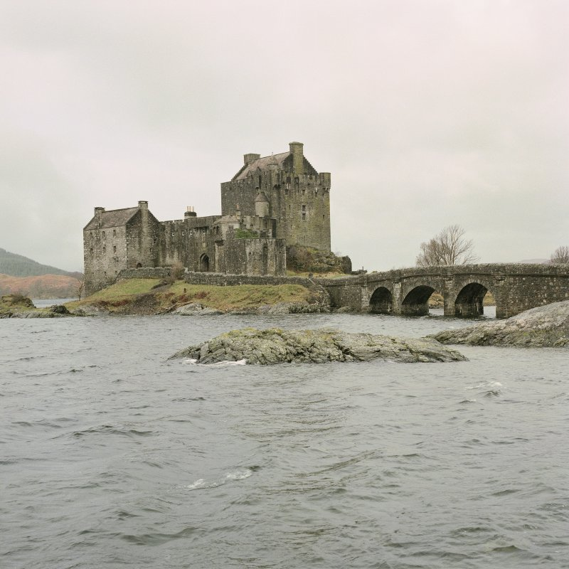 Eilean Donan Castle. General view from South-East.