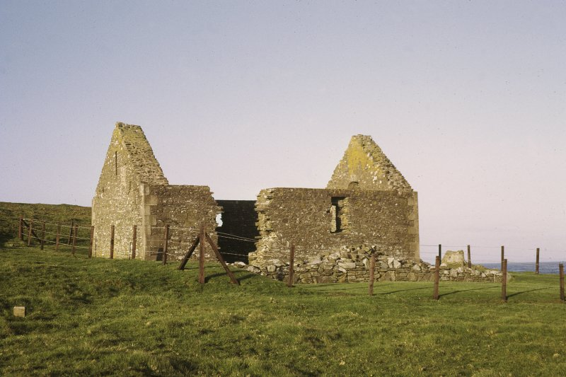Copy of colour slide showing  view of Whithorn Kirk, Isle of Whithorn NMRS Survey of Private Collection  Digital Image Only
