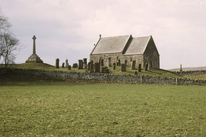 Copy of colour slide showing general view of early church site at Kirkmadrine, Wigtownshire NMRS Survey of Private Collection  Digital Image Only