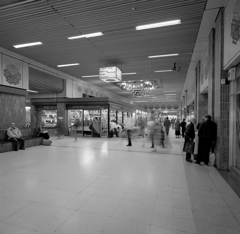 Phase I. View of Clyde Square on main concourse. Digital image of B 45109.