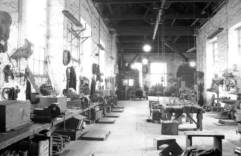 Interior View of workshops