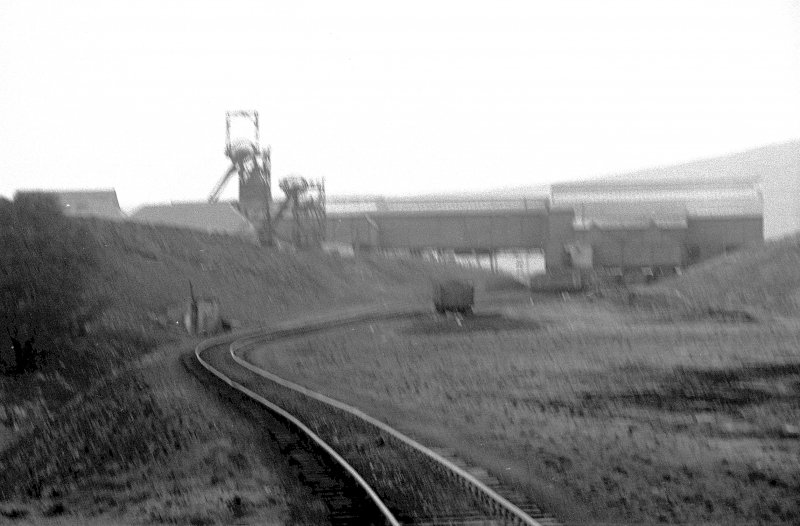 General view from WNW showing WNW front of number 7 pit