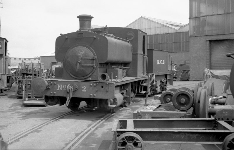 View looking NE showing NCB locomotive Lothians area number 2