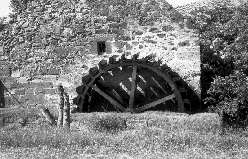 View from SSW showing waterwheel