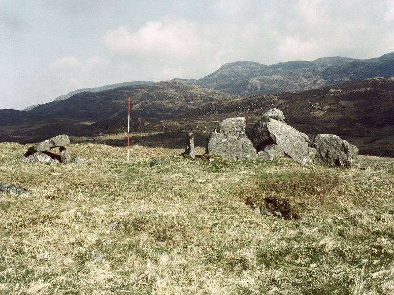 View from S of Greadal Fhinn chambered cairn. Digital image of AG/7795/CN.