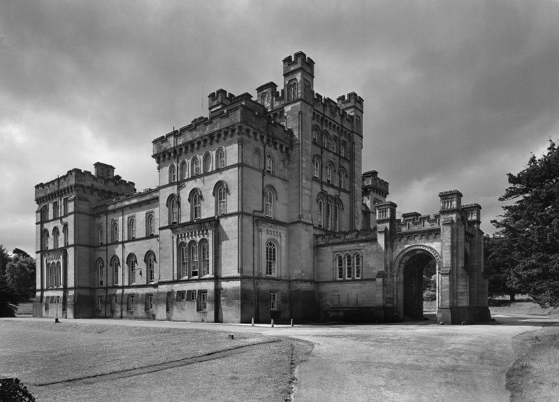 View of Lennox Castle from NE. Digital image of ST/619.