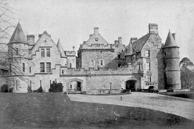 Photograph of Dalzell House.  C62645 General view.