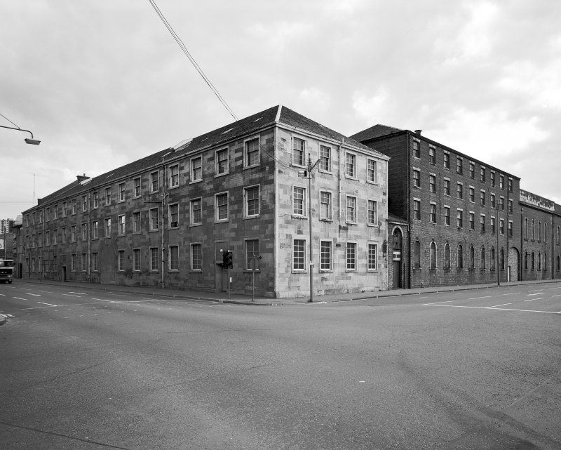 Glasgow, Cook Street, Eglinton Engine Works. General view from North-West. Digital image of A/56552.