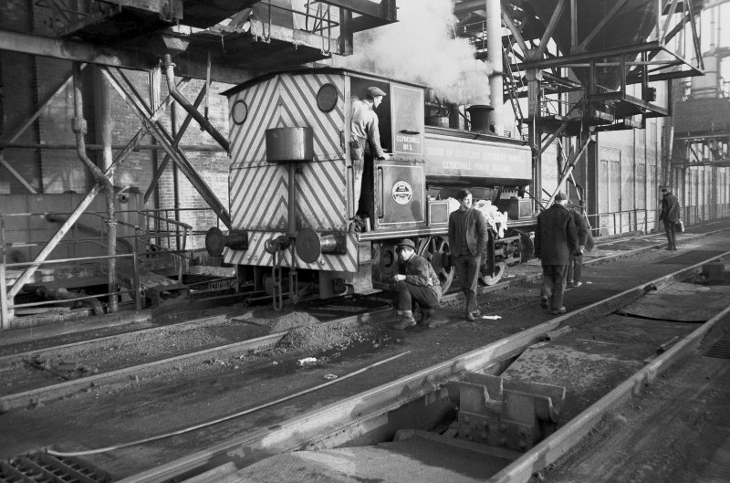 View from WSW showing SSEB 'Clydesmill number 3' at Clydesmill Power Station