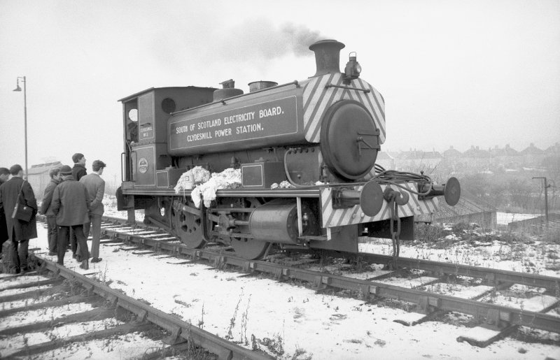 View showing SSEB Clydesmill number 3