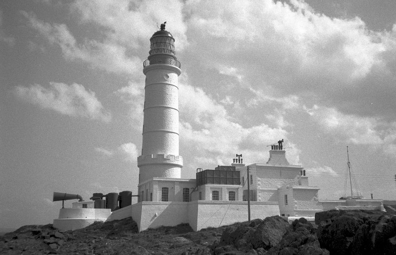 View of Corsewall Lighthouse.