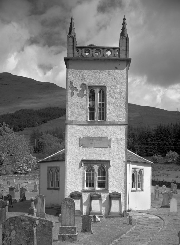 Kilmorich Parish Church. General view from West.
