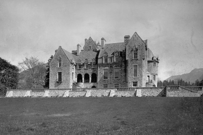 Ardkinglass View of North West front