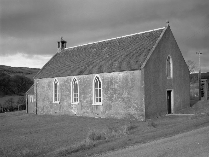 Claonaig, Parish Church. General view from South-East.