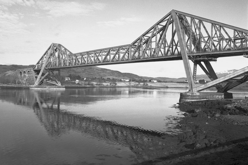 Connel Bridge. General view from South-West.