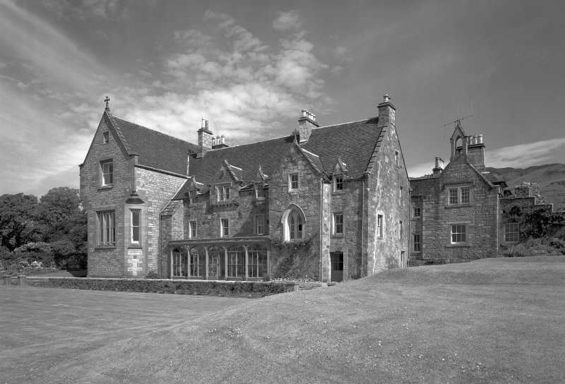 Ardchattan Priory General view of house from South East