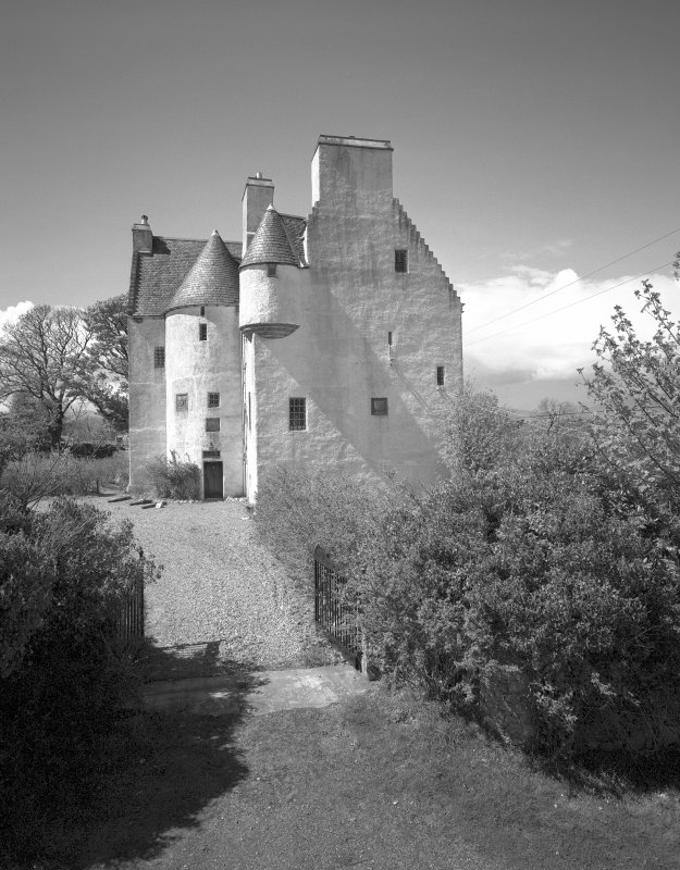 Argyll, Barcaldine Castle. General view from South-East.