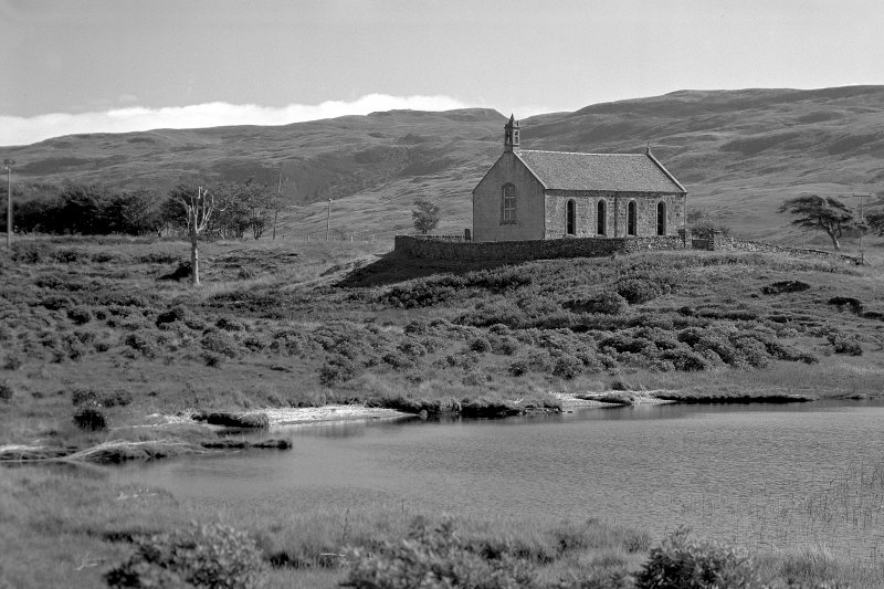Mull, Kinlochspelve Church. General view from West.