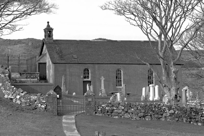 Mull, Kilninian Parish Church. General view from South-West.