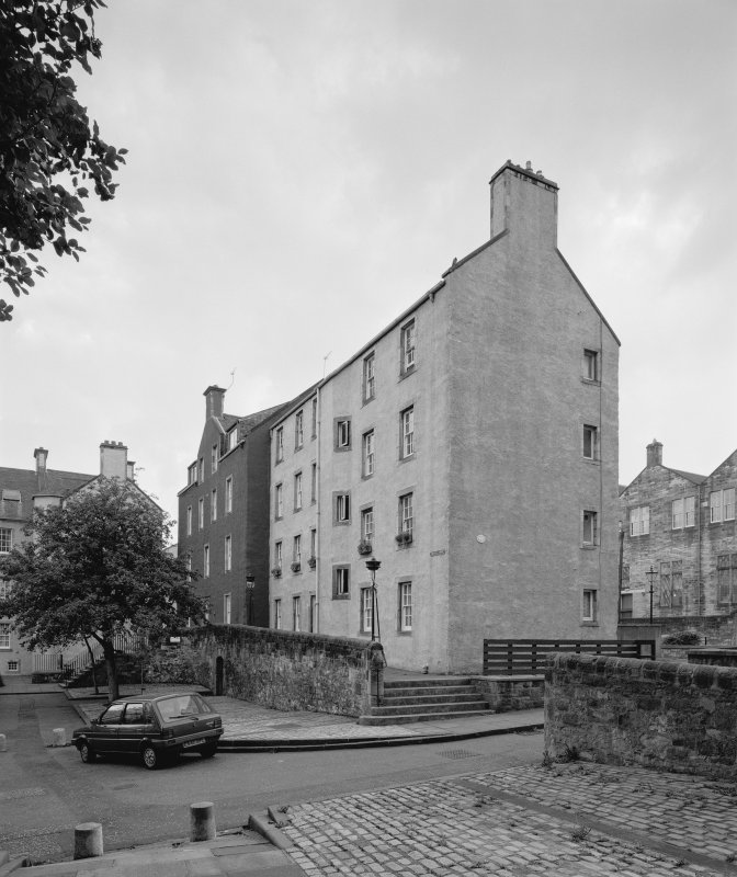 View of Chessel's Court courtyard, West block, view from North East. Digital image of C 61671.