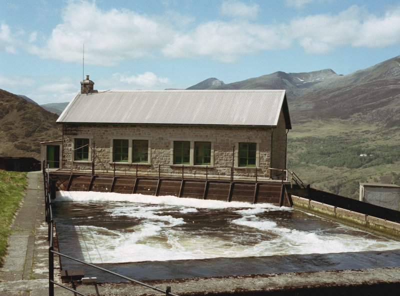 Lower Penstock valve house, from south east Digital image of B 13332/CN