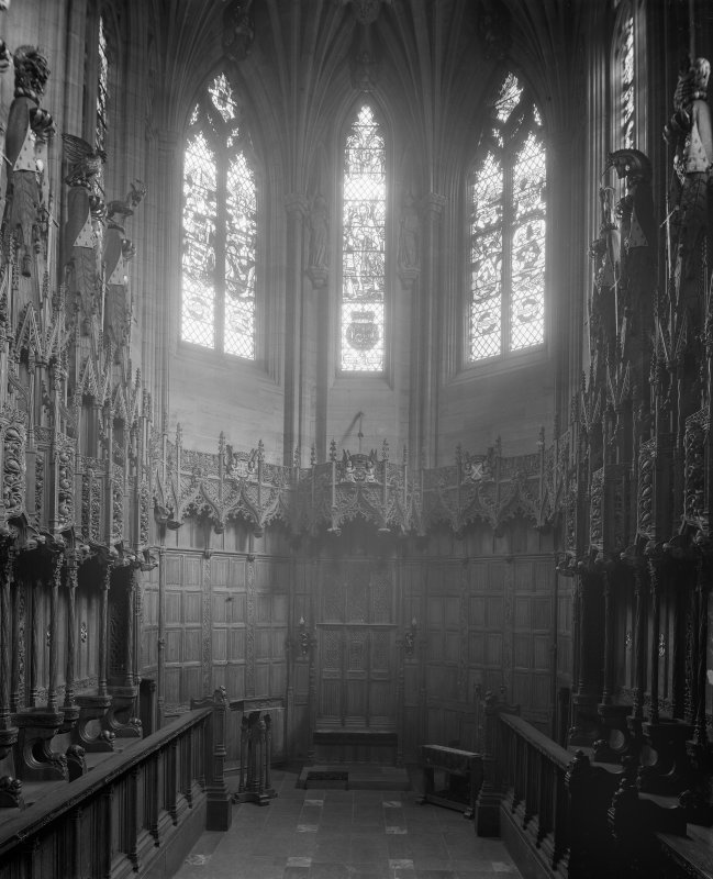 Interior-general view of Thistle Chapel