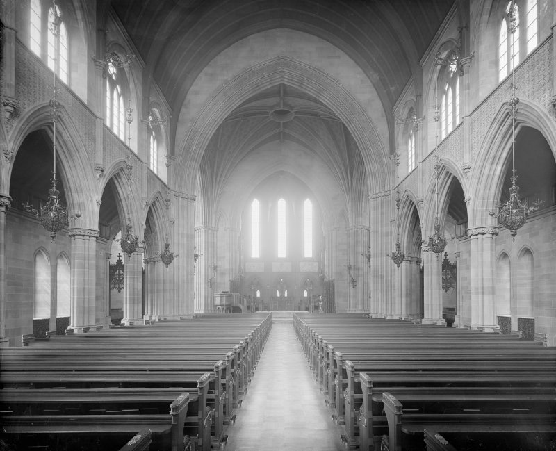 Interior -view of the nave