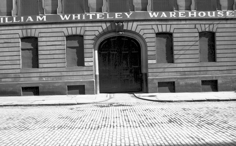 View from WNW showing main entrance of numbers 44-54