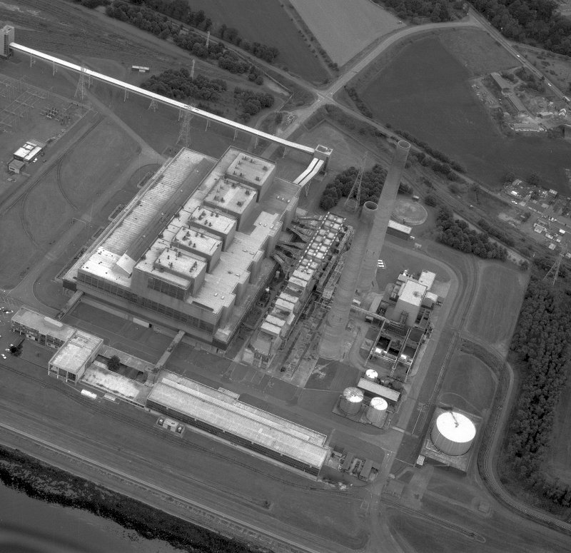 Aerial view. Digital image of B 43280.