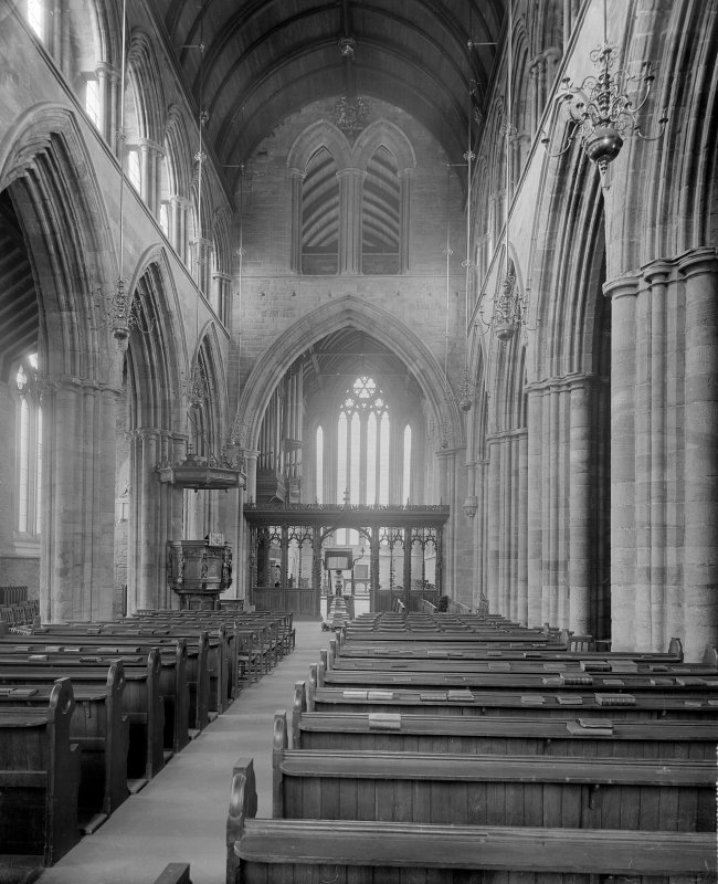 Interior-general view looking towards pulpit