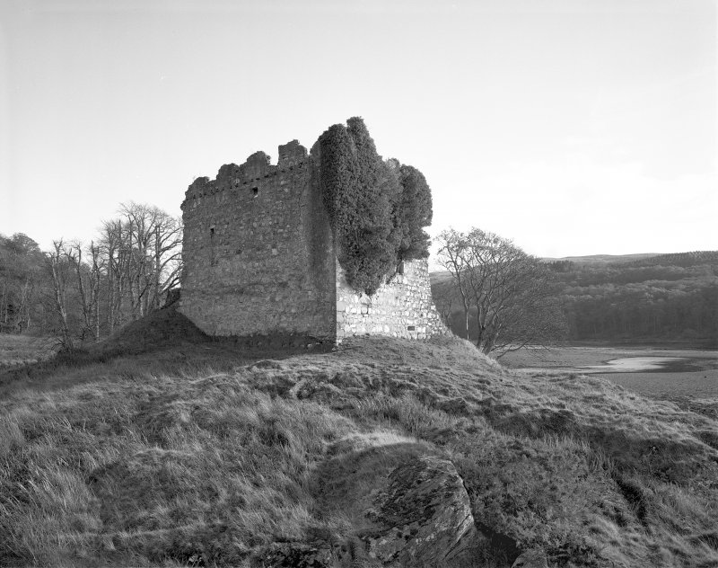 Castle Lachlan. General view from West.