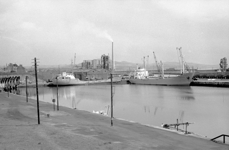 General view looking NE showing coasters in number 1 dock