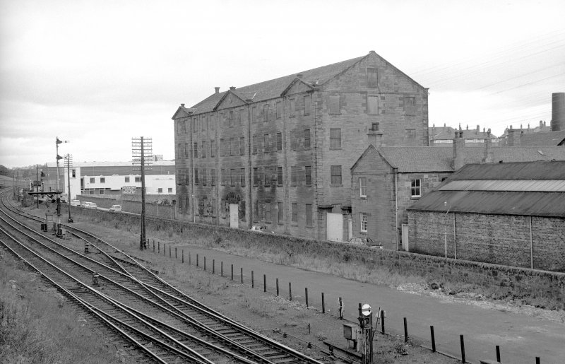 View from SSW showing WSW front of Baltic Works with part of works on right