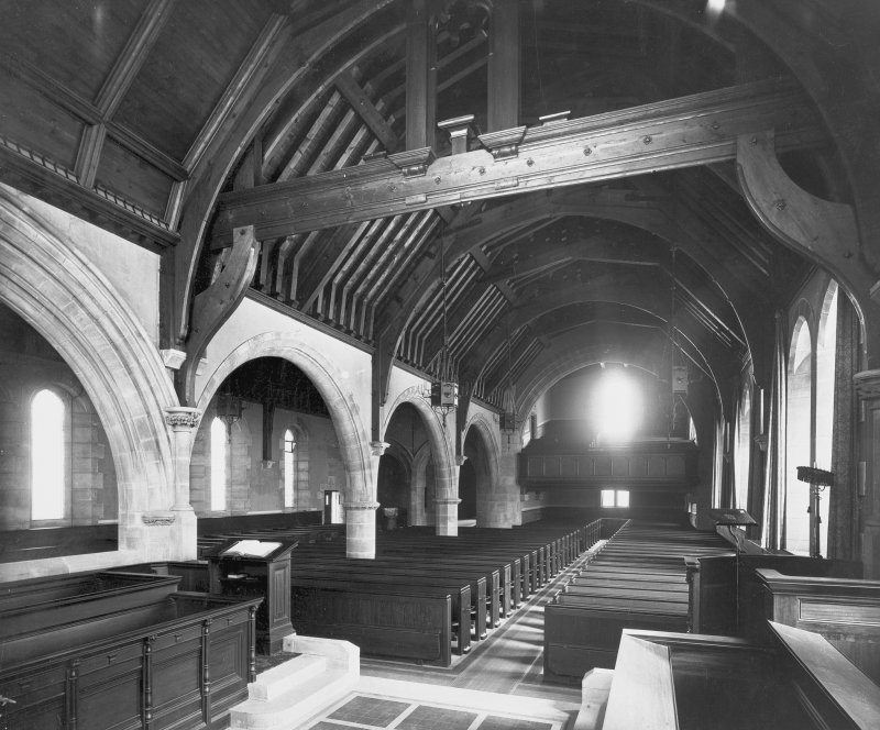 Interior -general view of nave Digital image of E 21297