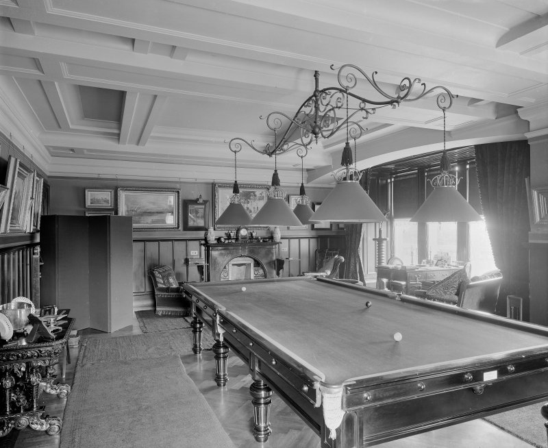 Interior-general view of Billiard Room