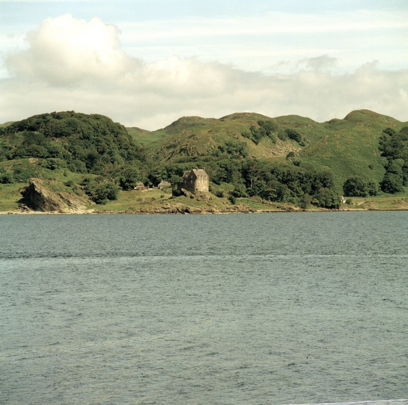Duntrune Castle. View from South (Crinan).