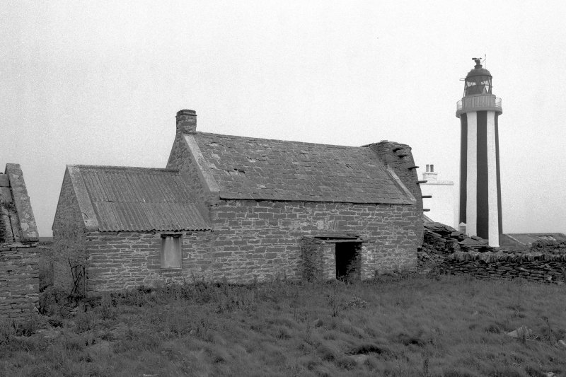 View from SE of barn and kiln. Digital image of C 78291