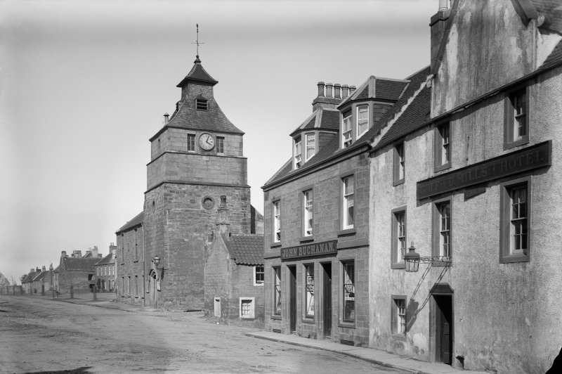 Crail, Marketgate. View from south west.