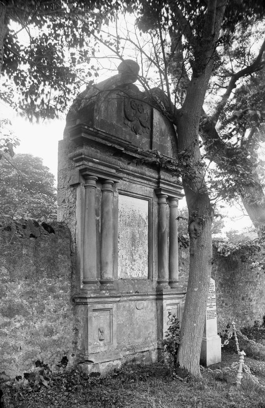 Crail, Marketgate, Churchyard. Tomb of Bailie John Wood of Sauchope.