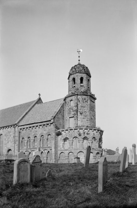 Leuchars, St Athernase Parish Church. View from south east